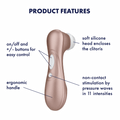 Satisfyer Pro 2 Next Generation Air Pulse Stimulator - Your Pleasure Toys
