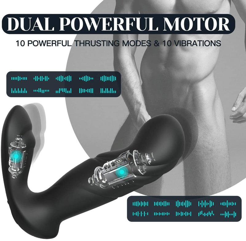 Tracy's Dog Black Baby Thrusting Anal Prostate Massager - Your Pleasure Toys