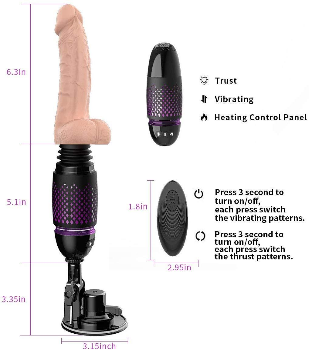 Tracy's Dog Black Whirlwind Thrusting Dildo - Your Pleasure Toys