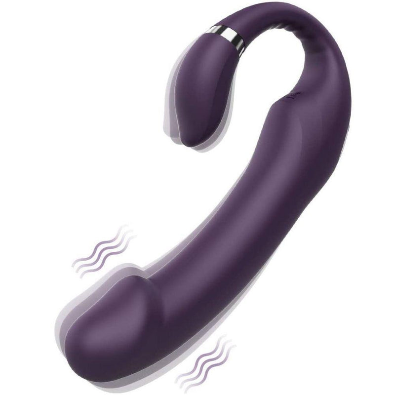 Tracy's Dog Dragon Bone Strap On Dildo with Dual Motors - Your Pleasure Toys