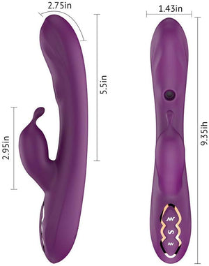 Tracy's Dog G-Spot Suction Rabbit Vibrator - Your Pleasure Toys