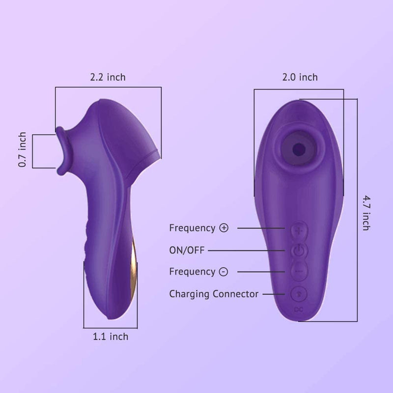 Tracy's Dog Little Witch Suction Vibrator - Your Pleasure Toys