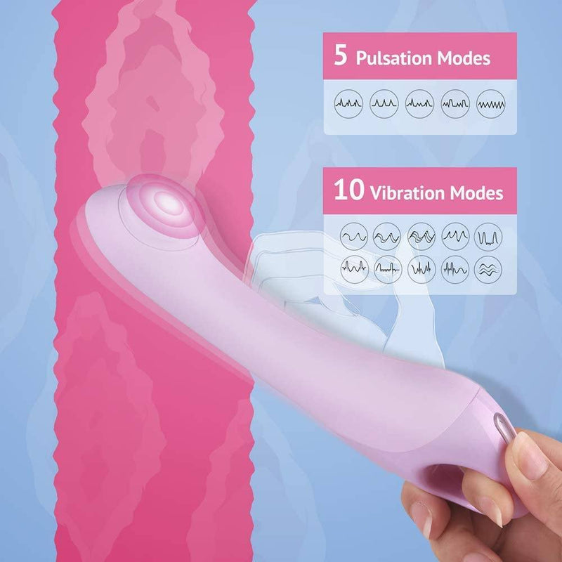 Tracy's Dog Pecker Pulsating G Spot Vibrator - Your Pleasure Toys