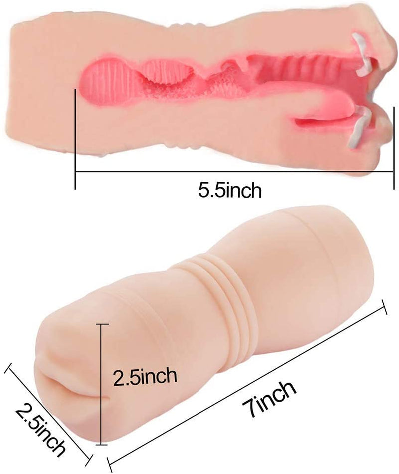 Tracy's Dog Realistic Mouth Stroker with Teeth - Your Pleasure Toys