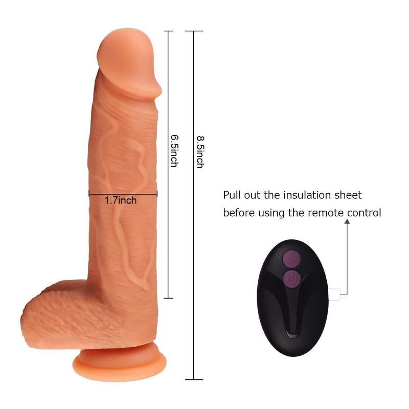 Tracy's Dog Thrusting Dildo Vibrator - Remote Control - Your Pleasure Toys