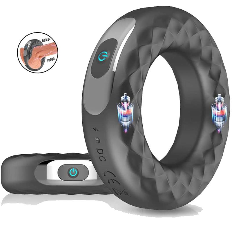 Vibrating Cock Ring with Dual Motors - Your Pleasure Toys