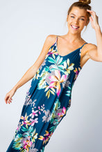 Load image into Gallery viewer, Tropical floral maxi dress