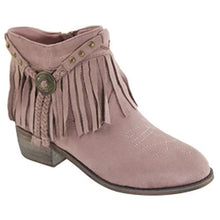 Load image into Gallery viewer, Ankle fringe bootie