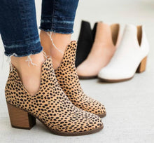 Load image into Gallery viewer, Cheetah print bootie
