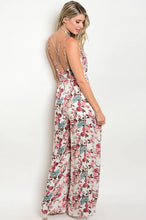 Load image into Gallery viewer, Floral slit Jumpsuit