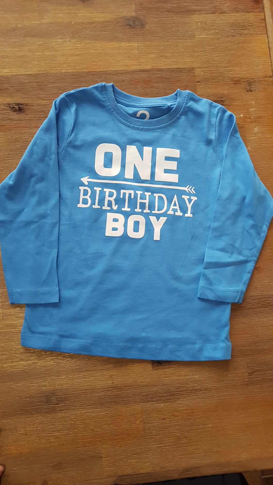 One - birthday boy top
