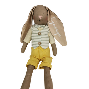Personalised Sitting Bunny