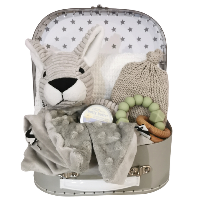 Unisex Kangaroo Boutique Suitcase