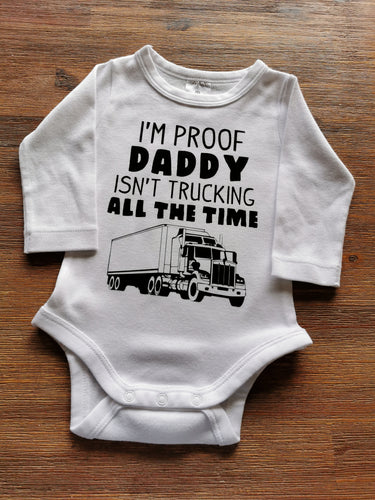 Trucking daddy bodysuit
