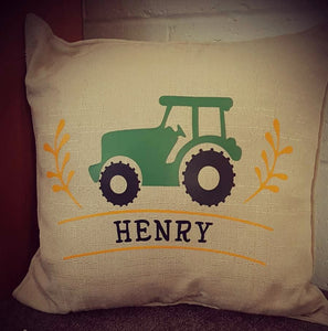 Country tractor cushion