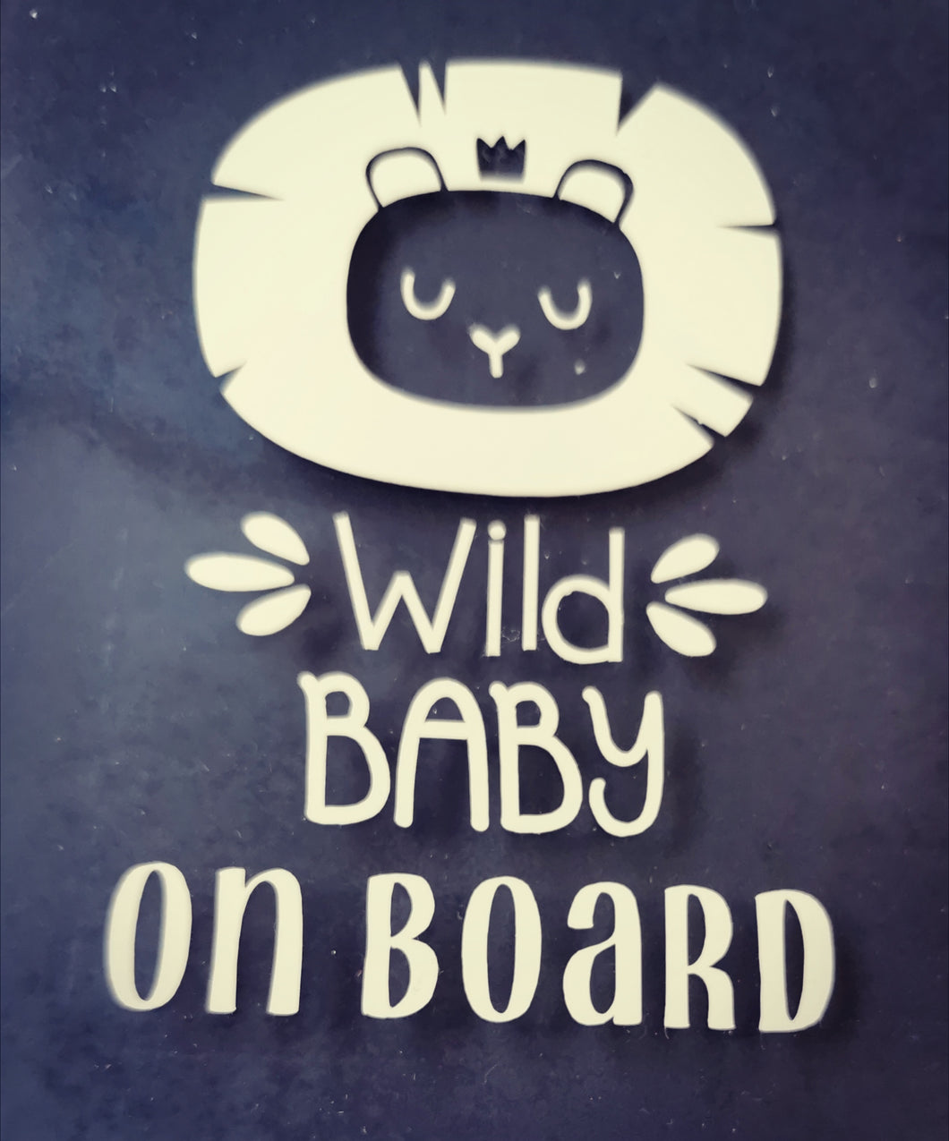 Wild Baby Car Decal