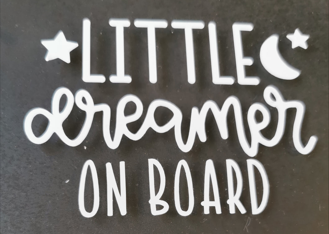 Dreamer Car Decal