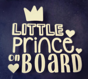 Little Prince Car Decal