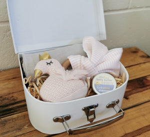 Swan Suitcase Gift Set - Small
