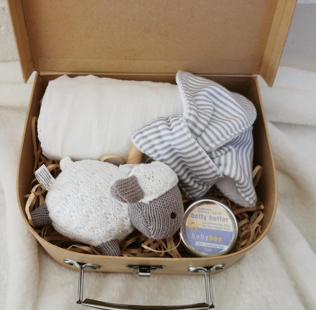 Sheep Suitcase Gift Set- Small
