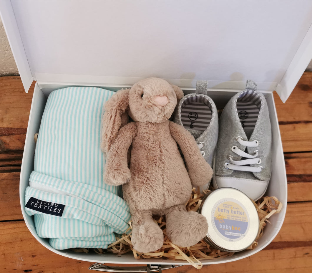 Jellycat Bunny Suitcase Gift Set - Large