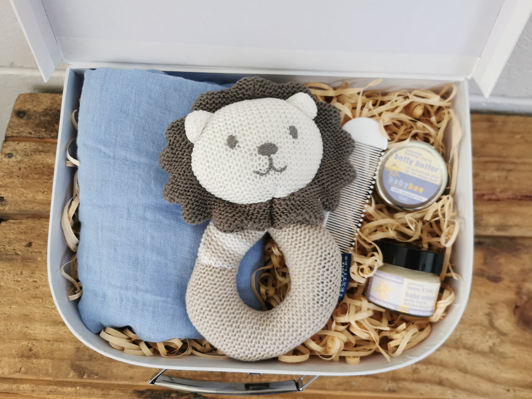Lion Mini Suitcase Gift Set - Medium