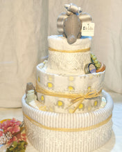 Load image into Gallery viewer, Sweet 3 Tier Elephant Nappy Cake