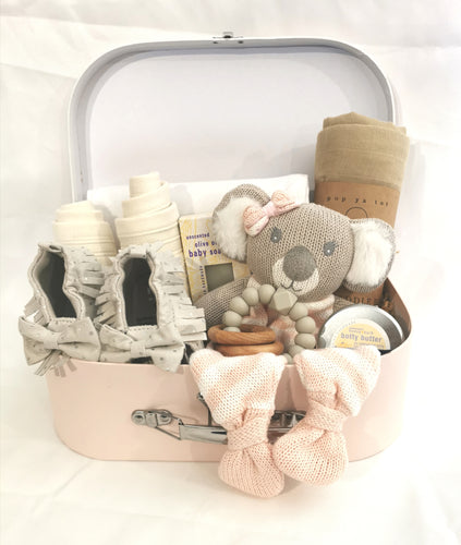 Koala Comforter Suitcase Gift Set - Girl