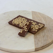 Load image into Gallery viewer, Milk Chocolate & Crispy Pearl Block