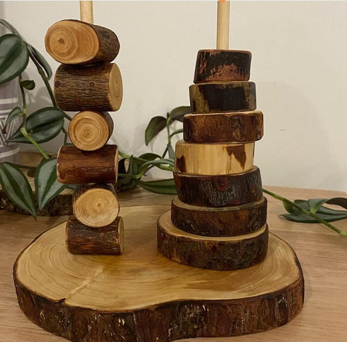 Wooden Double Stacker