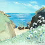 Resting At Porthgwara - Judi Trevorrow - Poldark Collection