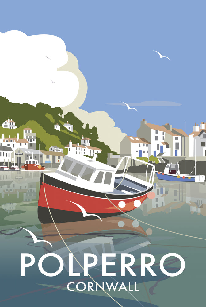 Polperro - Dave Thompson - T428
