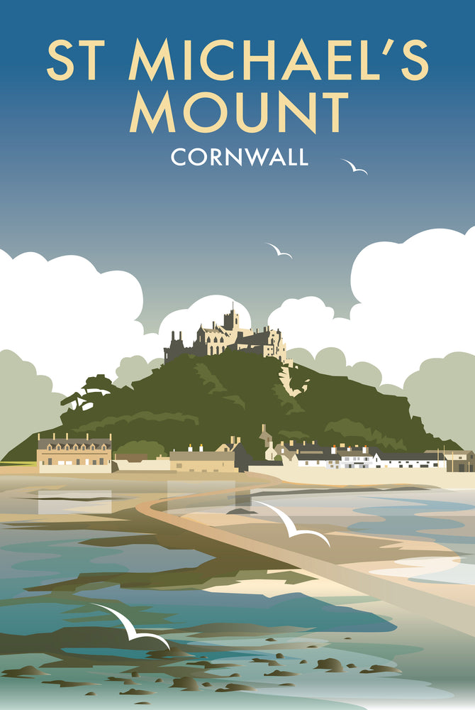 St Michaels Mount - Dave Thompson - T458