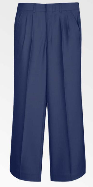 Boys Navy Dress Slacks