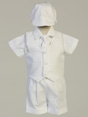 Chase Plaid Christening Outfit