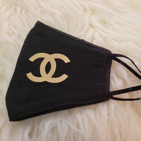 Chanel Inspired Face Mask
