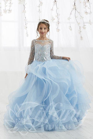 Tiffany Princess 13555 Pageant Gown