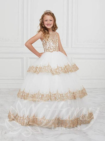 Tiffany Princess 13602 Pageant Gown