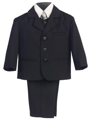 Boys 5pc. Dark Gray  Formal Suit
