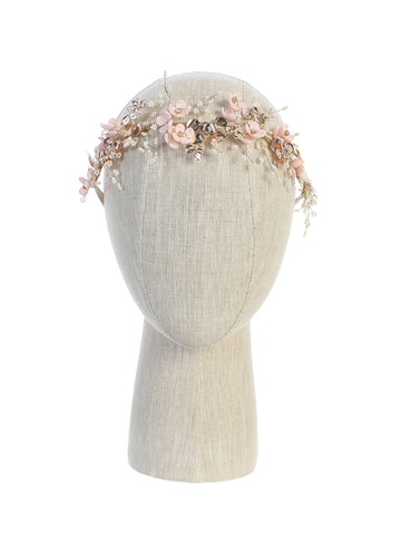 Girls Natural Flower Headpiece