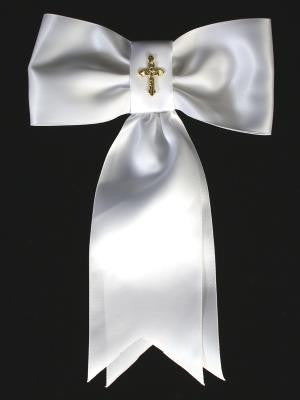 Boys First Communion Gold Cross Arm band