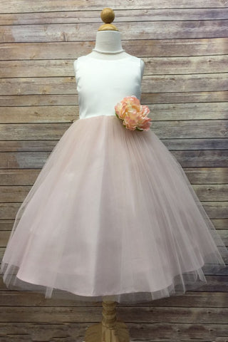 Girls Hannah Flower Girl Dress