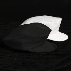 Boys White Plain Cap
