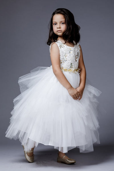 Girls Sonia Flower Girl Dress