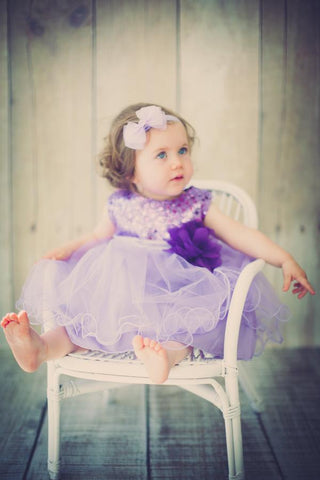 Infant  Classic Sequin Party Dress