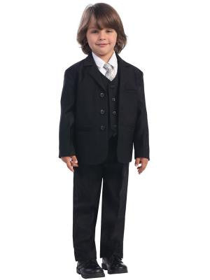 Boys 5pc. Black Formal Suit
