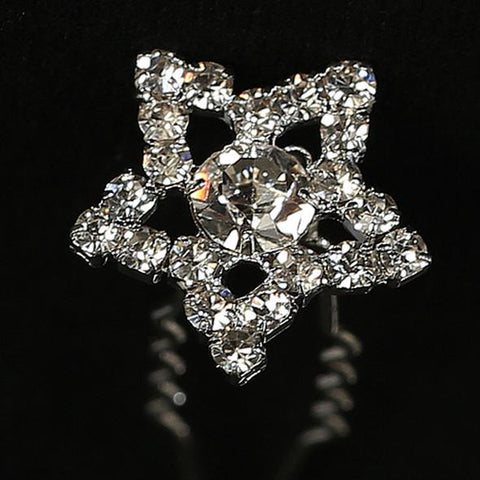 Star Rhinestone  Hair Pin