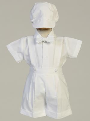 Blake Cotton Oxford Christening Outfit