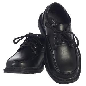 Boys Black  David Leather Shoe