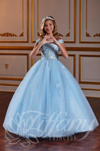 Tiffany Princess 13582 Pageant Gown